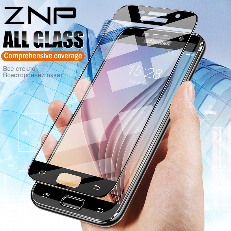 ZNP protective glass on the for samsung A5 A7 A3 2017 A8 2018 S7 tempered glass For Samsung j5 j7 2017 S7 Screen protector filmZNP protective glass on the for samsung A5 A7 A3 2017 A8 2018 S7 tempered glass For Samsung j5 j7 2017 S7 Screen protector film