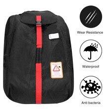 MODOKIT черная переносная дорожная сумка для детского автомобиля, чехол для сиденья, сумка-Органайзер, дорожная сумка для коляски, сумка для хранения