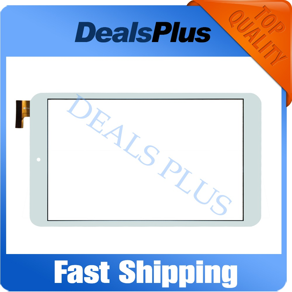 Replacement Touch Screen Digitizer Glass For Onda V80 Plus OC801 8-inch White Free Shipping  цены