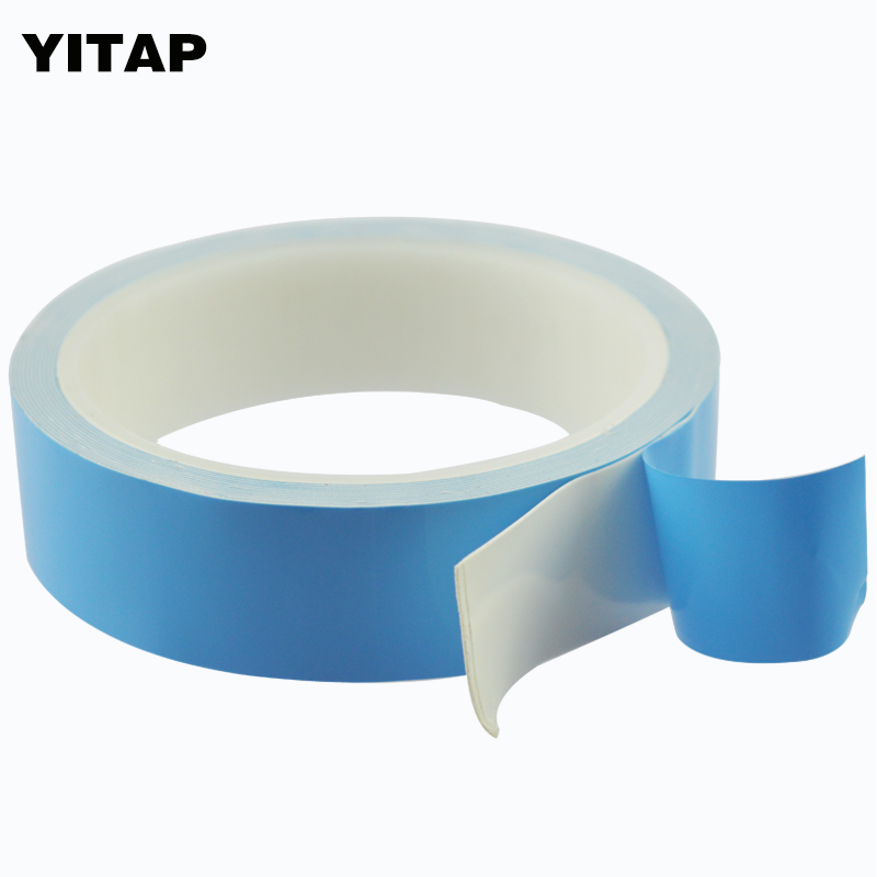 YITAP Thermal Interface Double Sided Tape Damping Cushioning Heat-Conducting Adhesive Tape For Led yitap 25 lot double side pet double sided adhesive tape for lcd screen double sided tape