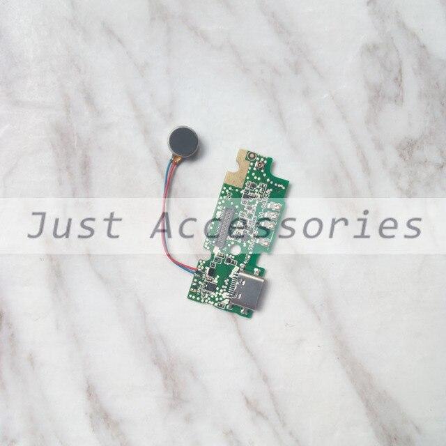 Acessórios do telefone móvel Micro USB ficha de carregamento placa Do Motor Vibrador mic microfone USB cabo Flex para o Poder Ulefone 3
