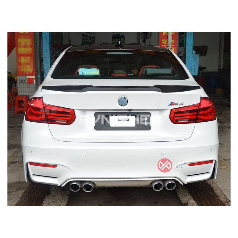 M4 Style For BMW F30 F80 M3 Spoiler Carbon Fiber Material 2012-2016 320i 328i 335i 316D F30 Carbon fiber wingM4 Style For BMW F30 F80 M3 Spoiler Carbon Fiber Material 2012-2016 320i 328i 335i 316D F30 Carbon fiber wing
