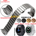 Laopijiang Samsung Gear S2 R720 sport watch strap with stainless steel smart