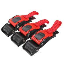 3Pcs Motorcycle Motocicleta Bike ATV Helmet Chin Strap Speed Sewing Clip 3 Quick Release Buckle(China)
