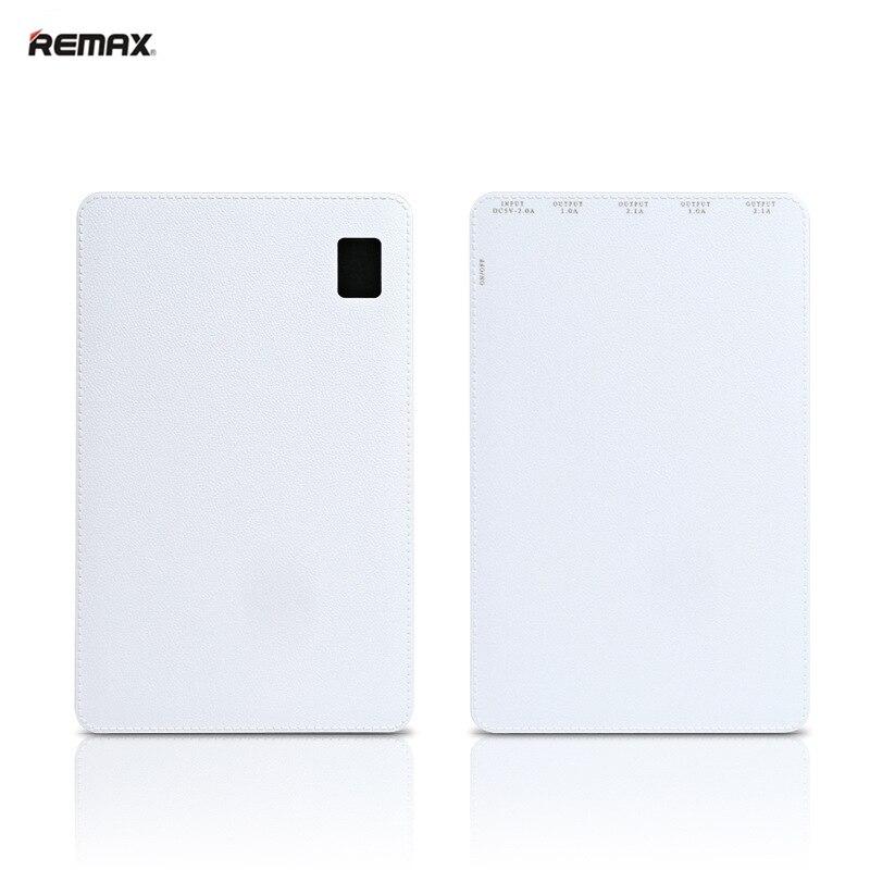 Remax batterie externe 30000 mah batterie externe pauvreté 4 USB Powerbank Portable chargeur de téléphone Portable pour Xiaomi Samsung iphone XS