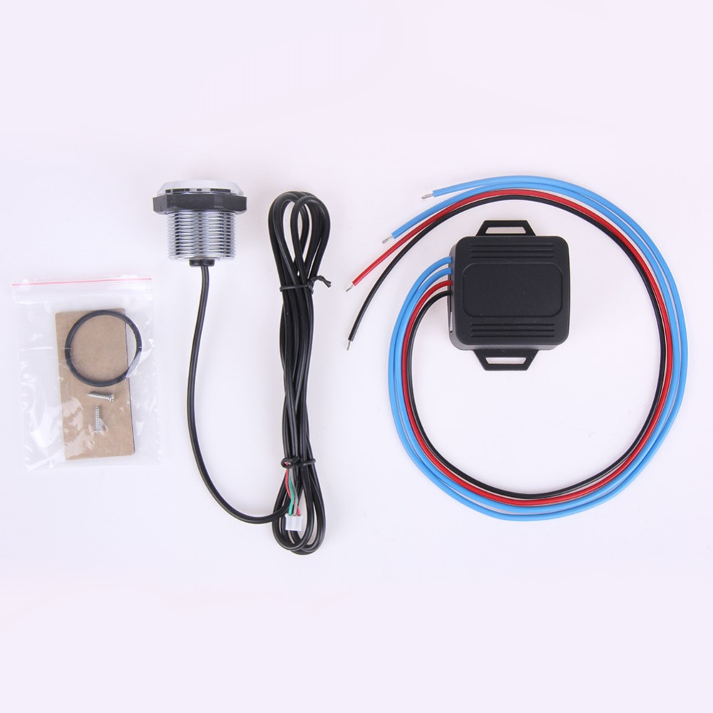 12v Car Vehicles Engine Start Button Kit Switch Ignition Universal Is Using A To Power And Momentary Push Styling Blue Light High Quality Hot In Switches Relays