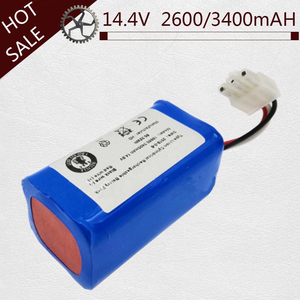 2600/3400mAH Rechargeable Battery For ICLEBO ARTE YCR-M05 POP YCR-M05-P Smart YCR-M04-1 Smart YCR-M05-10 YCR-M05-30 YCR-M05-50