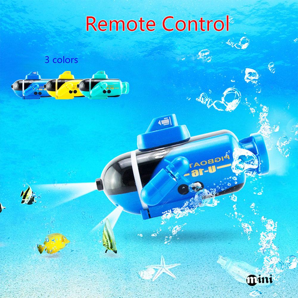 Мини-субмарина с дистанционным управлением корабль синий плавательный бассейн подводная лодка для RC подводный корабль Прямая