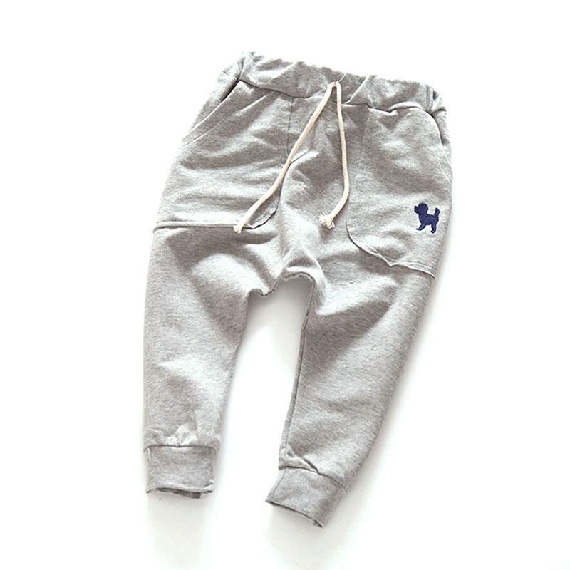 2-7Y Baby Pants Kids Pants For A Boy Children Sprots Trousers Slacks Bottom Sweatpants For Boys