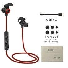 Универсальный AX-02 удобные Беспроводной Bluetooth V4.1 Спорт Бег Шум снижение супер стерео бас в ухо наушники