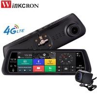 4G Car DVR Mirror GPS Navigation 8 IPS Special Car DVR Camera Mirror GPS Bluetooth WIFI