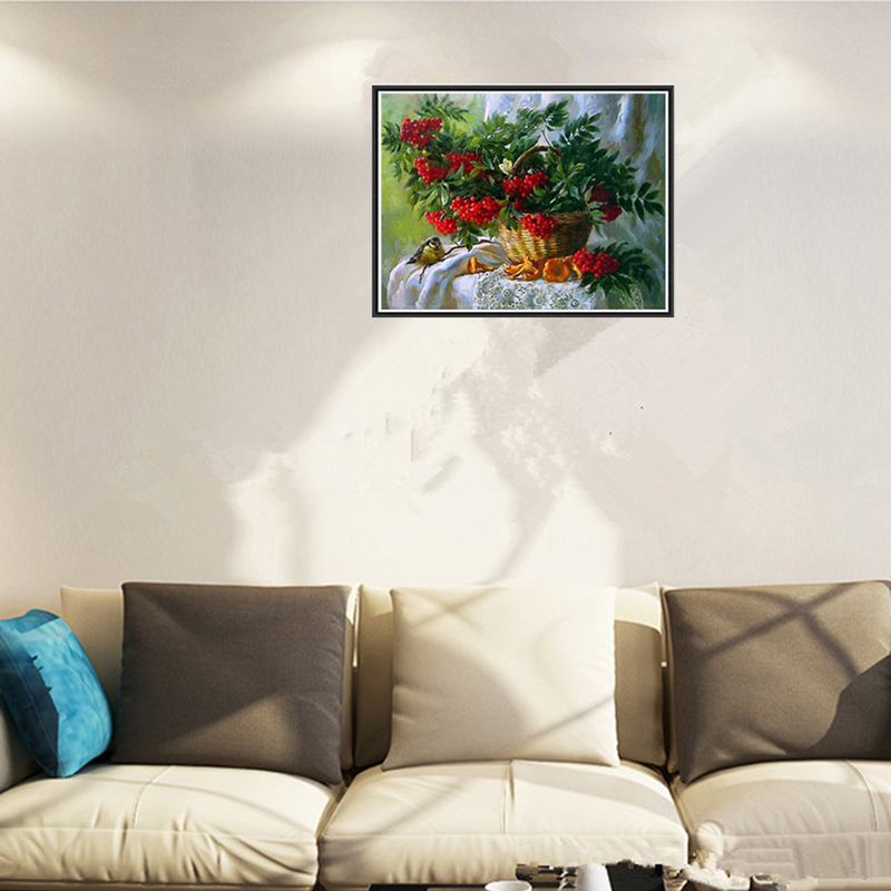 Home & Garden Hot Sale Diamond Painting News Dynamic Diy Kit Kids Toy Dewing Rose Flower Floral Baby Room Living Room Home Hotel Office Shop Deco