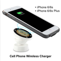 V checker T205 wireless charger cell for phone iPhone 6 6s Plus clip car power source