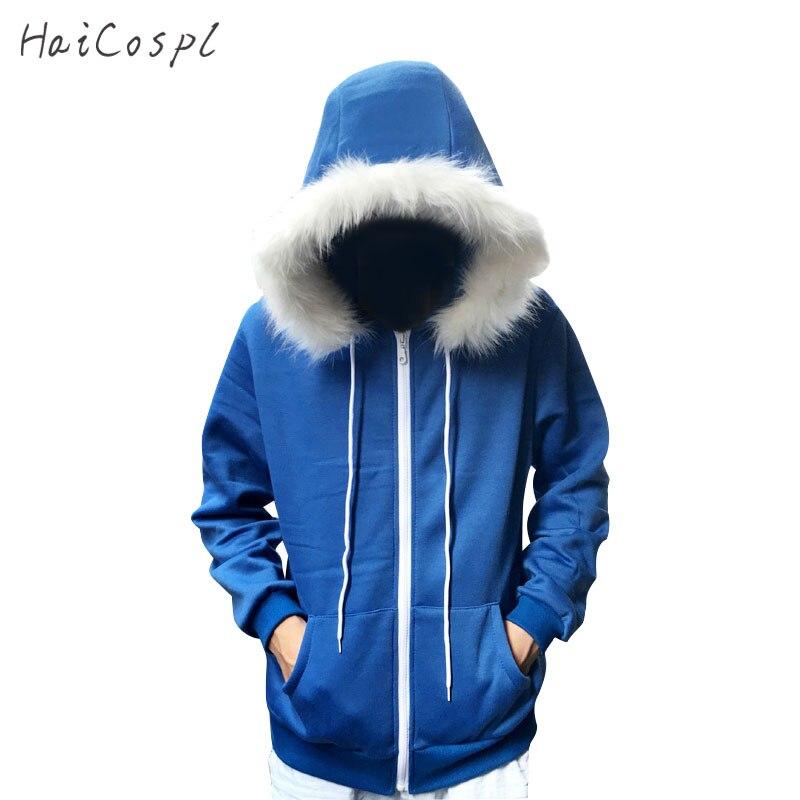 Sans Kostüm Undertale Cosplay Blau Hoodie Skeleton Brother Mantel Männer Erwachsene Warme Starke Top Winter Reißverschluss Langarm-sweatshirt