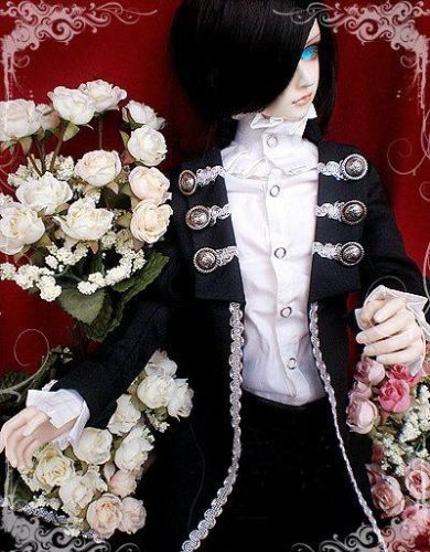 [wamami] 510# Black Prince Suit/Outfit 1/3 SD DZ BJD Boy Dollfie цена