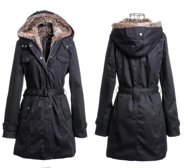 Aliexpress.com : Buy Removable Lining Women's Long Design Faux Fur ...