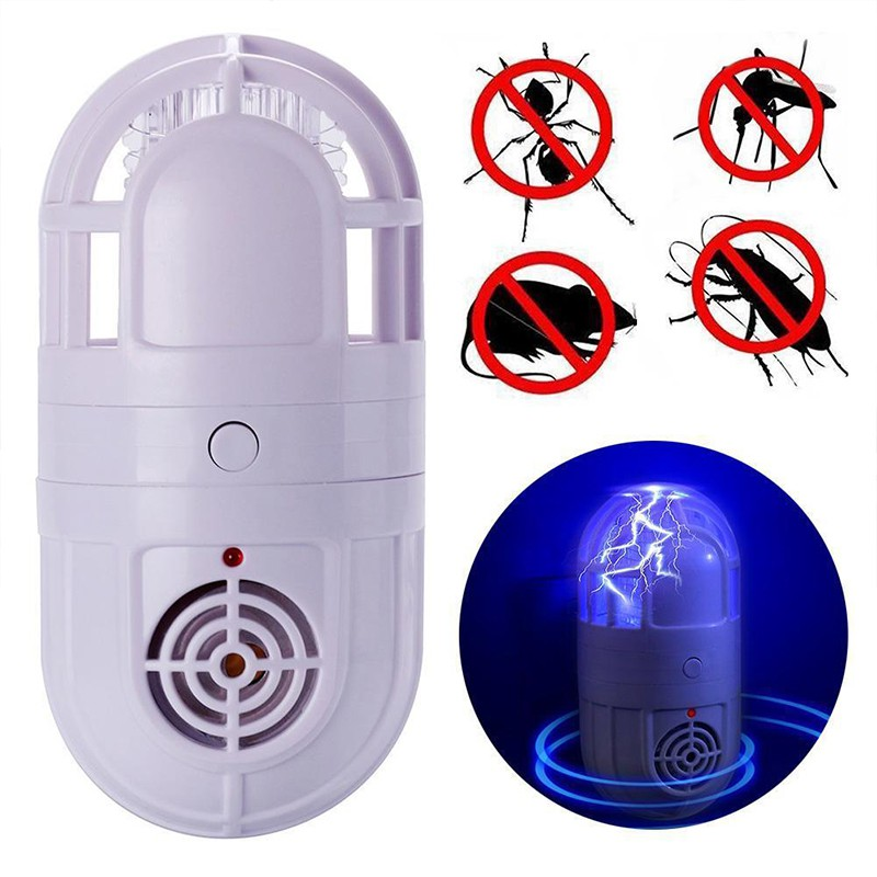 Home Garden Ultrasound Blue Light Two In One Multifunctional Environmental Protection Mosquito Killer Lamps in Repellents from Home Garden