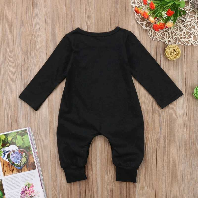 c12c539f7 ... Winter Children Clothing Baby Boy Girl One-Pieces Romper Newborn Infant  Long Sleeve Jumpsuit Outfits