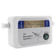 Мини dvb-t спутниковый искатель цифровая антенна наземного ТВ антенна измеритель силы сигнала приемника dvbt частота 170-860 мГц