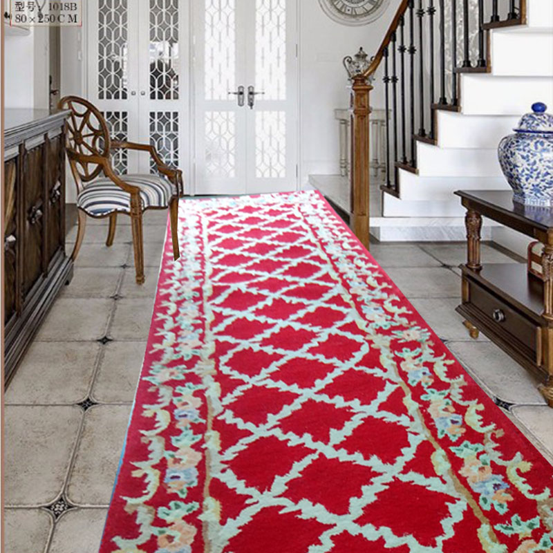 Corridor carpet Large size rug Wool custom carpets Washable rug for ...
