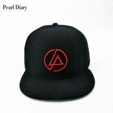 Linkin Park Rock cap Embroidery Men's baseball caps cotton Band hat Casual snapback hats hip hop for men dad cap