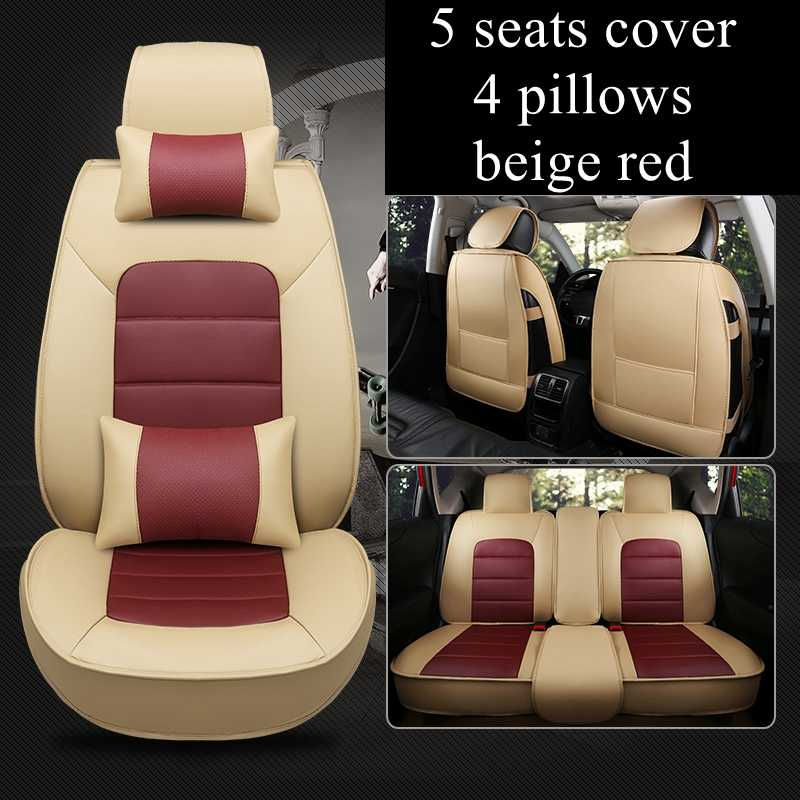 5 Seats automobiles Car Seat Cover for Mercedes Benz C180/C200/C200  CGI/C200K/C220/C250/C280/C300/C350/C450/B class car styling