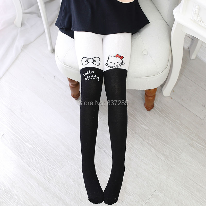 Baby Girls Winter/autumn Legging Cotton Stocking For Kids Lovely Cute Children Girls Cartoon Warm Pantyhose New Leggings Warmer