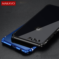 Luxury For Huawei P10 Case 2 In 1 Slim Metal Frame Acrylic Back Cover P10 Plus