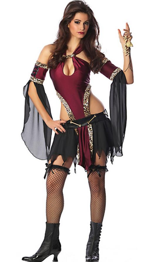 2015 Sexy Halloween Vampire Cosplay Costume Free Size For ...
