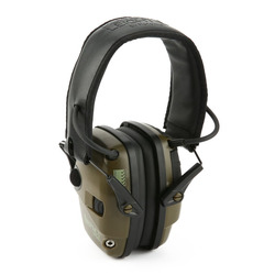 Anti-rumore Impatto di Amplificazione del Suono Tiro Elettronico Paraorecchie Tattica di Caccia Hearing Protezione Auricolare