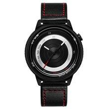 Фотография Break Lovers Men Women Unisex Fashion Casual sport Wristwatch Stainless Steel Waterproof  Quartz Creative Camera Style Watches