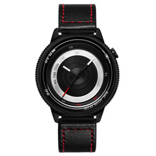 Break Lovers Men Women Unisex Fashion Casual sport Wristwatch Stainless Steel Waterproof  Quartz Creative Camera Style Watches