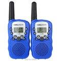 Синий Подробная Информация о 2 Шт. 0.5 Вт UHF Авто Multi-каналов 2-полосная радио Walkie Talkie домофонных Т-388