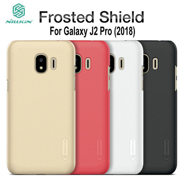 new arrivals c2435 c70c5 US $7.57 |For Galaxy J2 Pro 2018 Case Nillkin Frosted Shield Hard Matte  Back Cover for Samsung J2 Pro 2018 Phone Shell Case-in Half-wrapped Case  from ...