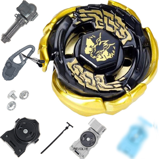 GOLD Galaxy Pegasus (Pegasis) Beyblade Metal Fusion Masters Black Hole / Sun Ver 1pcs Drop Shopping With Launcher