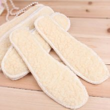 Deodorization Sweat Absorbent Breathable And Comfortable Wool Insoles In Autumn And Winter Warm Lamb And Thickened Secti