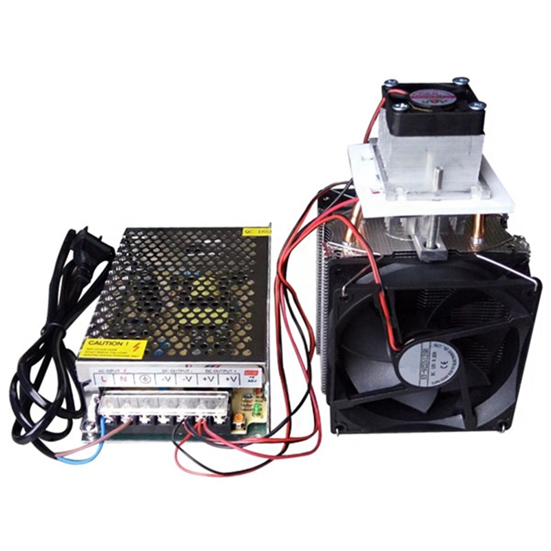 EU Plug 12V 10A Electronic Semiconductor Radiator Refrigerator Cooler Cooling System DIY High quality DIY Cooling Equipment hot 12v 6a diy electronic semiconductor refrigerator radiator cooling equipment