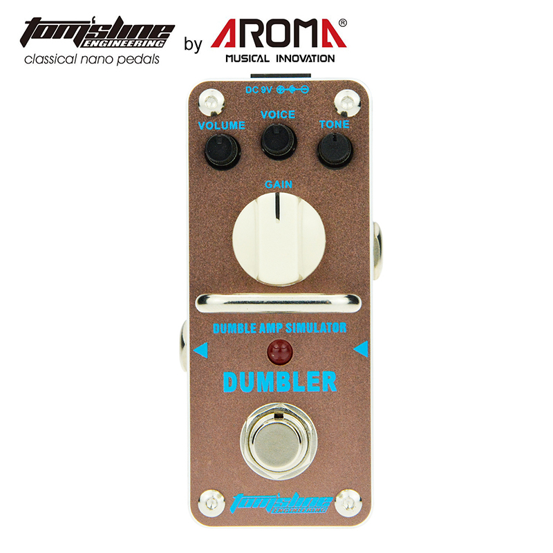 Overdrive Pedal Guitar Effect Dumbler Based On The Tone of Legendary Dumble Amp Smooth and Dynamic Sound купить