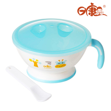 Mini Grind Bowl With Cover Set Of Childrens Dishes Spoon Baby Food Feeding Kids Plate Child Dish