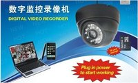 TF Card 3.6mm lens Camera Digital Loop Recorder CCTV DVR Dome Camera USB Motion Detection