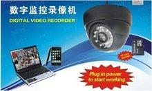 Big sale TF Card 3.6mm lens Camera Digital Loop Recorder CCTV DVR Dome Camera USB Motion Detection