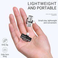 Audio converter dongle for lightning to 3.5 mm Cellphones & Telecommunications