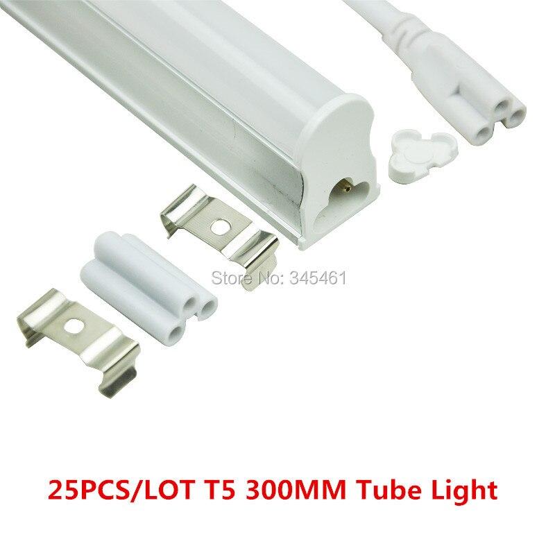 25X 2016 Upgraded LED Tube Light Bulb T5 led Lamp Tube 300mm SMD3528 Lamps White/ Warm White Lampada Led Spotlight sokolov золотые серьги с куб циркониями nd027144