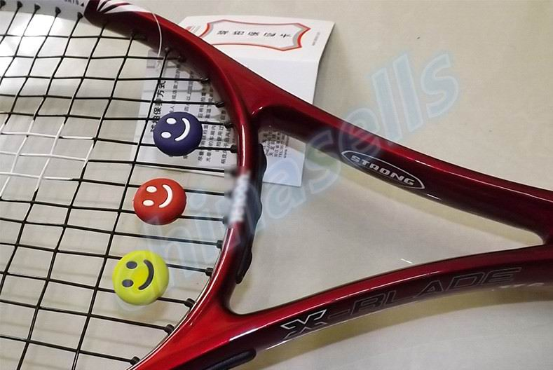 1pcs Tennis Racket Damper Shock Absorber To Reduce Tenis
