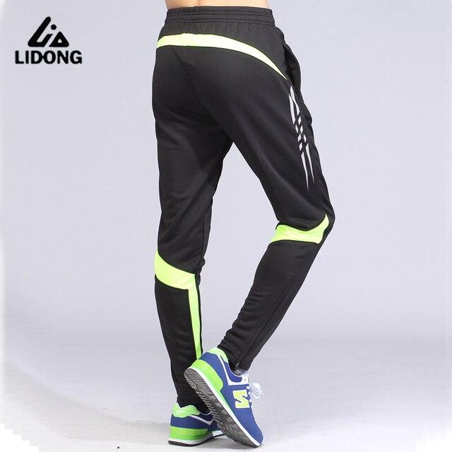 646ec93d2286d Mallas deportivas para hombre Pantalones de chándal de fútbol entrenamiento  de fútbol pantalones de hombre correr