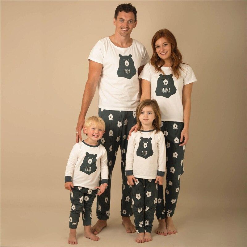 חג המולד פיג סט משפחה התאמת PJs כותנה Nightwear ילד הורים Nightwear באיכות גבוהה חמה תואמות משפחת בגדי סט