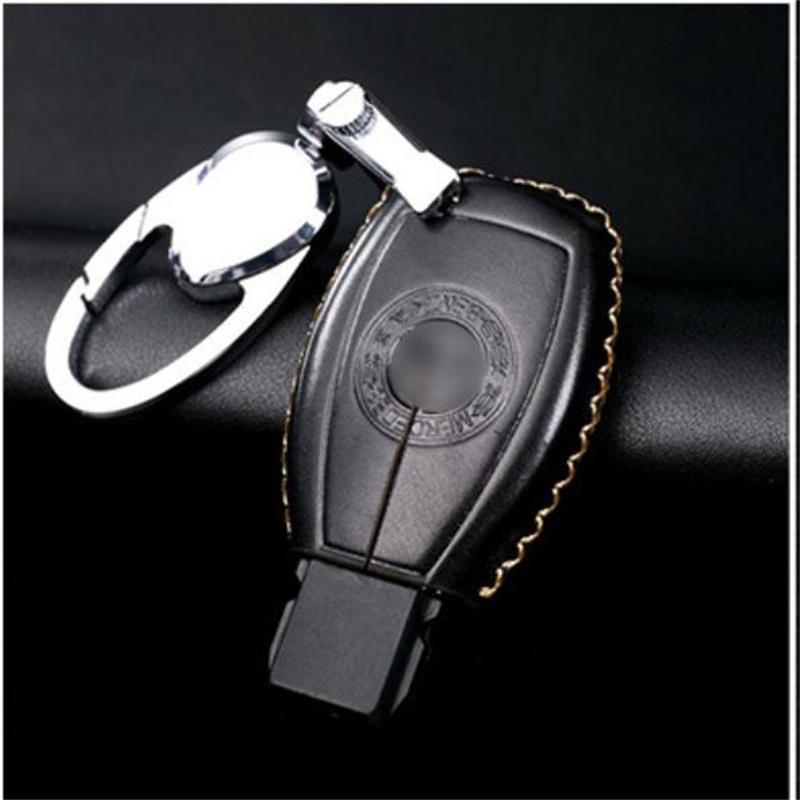 Mercedes leather key holder promotion shop for promotional for Mercedes benz key holder