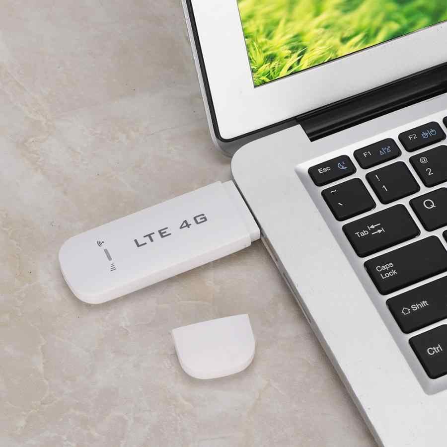 4G LTE USB محول الشبكة اللاسلكية WiFi جهاز توجيه مزود بنقطة اتصال مودم عصا واي فاي جهاز توجيه مزود بنقطة اتصال