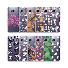 Grandever Soft Tpu Case For Samsung Galaxy s8 Plus Note 8 A3 A5 J5 2016 a3 a5 j3 j5 j7 2017 Case Silicone Clear Cute Thin Cover