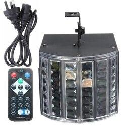 Smuxi DMX512 z pilotem LED RGB efekt oświetlenie lampka nocna DJ Disco Bar Party dekoracje ślubne i świąteczne AU Plug